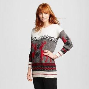 Mossimo Supply Co OverSized Ugly Christmas Sweater